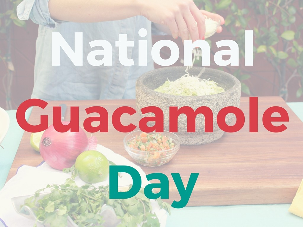 national-guacamole-day
