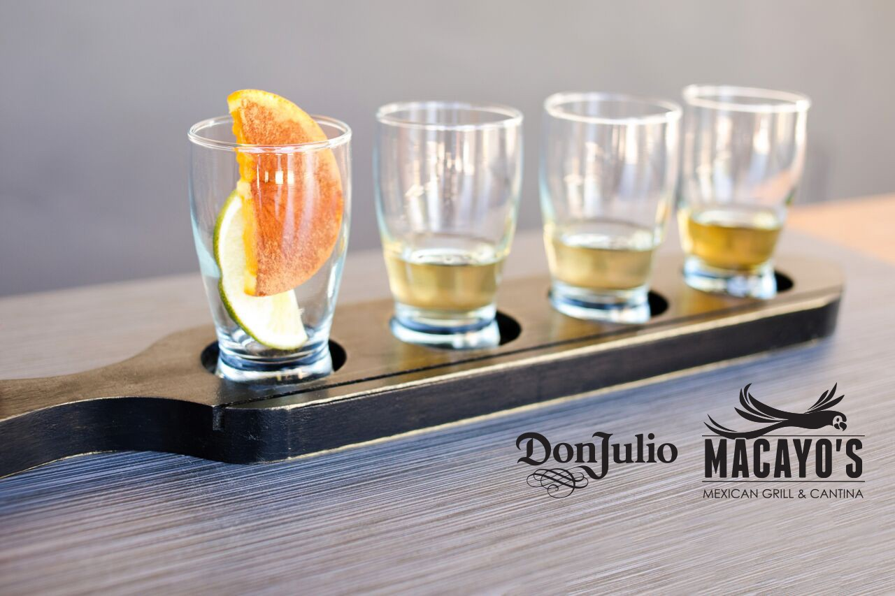 Don Julio Tequila Flight - Shea Logo