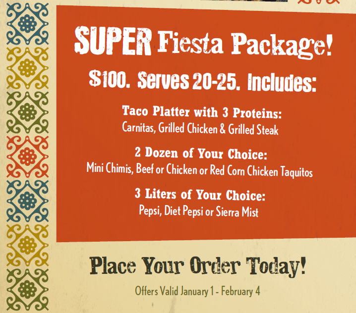 SUPER Fiesta Package