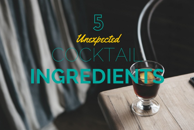 5 cocktail ingredients