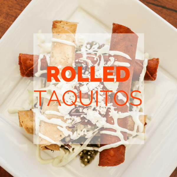 Rolled beef taquitos recipe