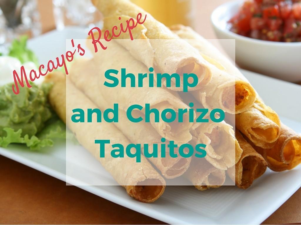 shrimp-and-chorizo-taquitos