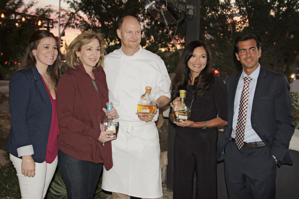 From our last Tequila Dinner with Eric Justice, co hosted by Sofia Partida of Partida Tequila!