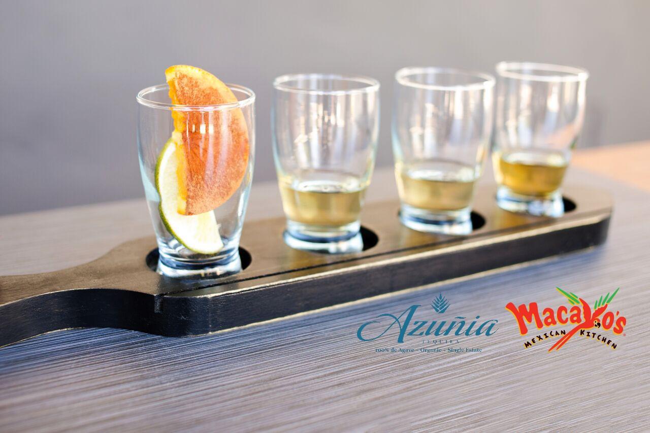 Azunia Tequila Flight - Mac Logo