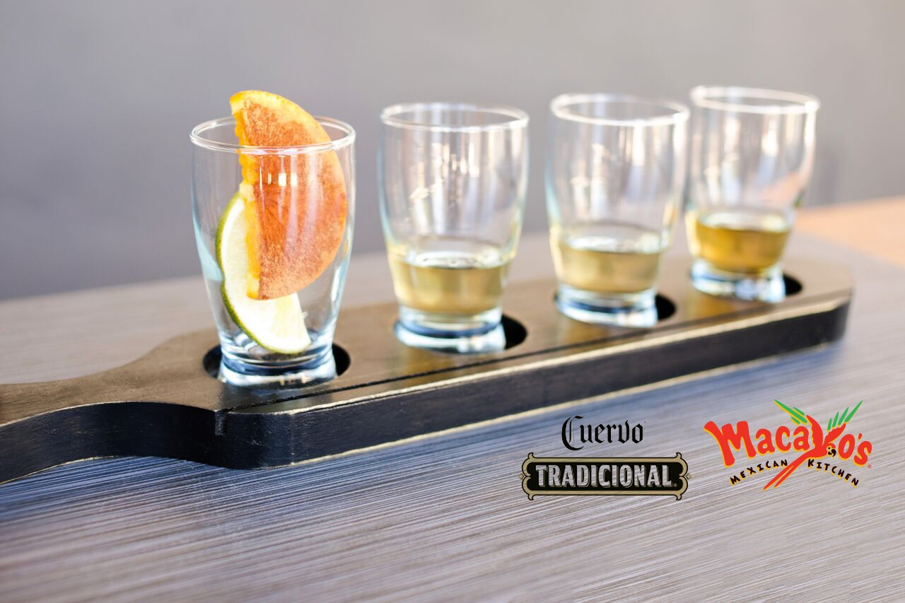 Cuervo Tradicional Tequila Flight - Mac Logo