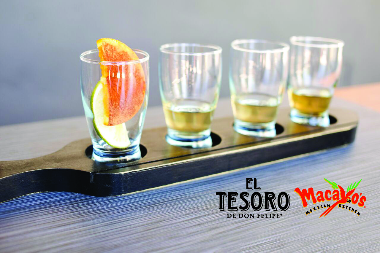 El Tesoro Tequila Flight - Mac Logo
