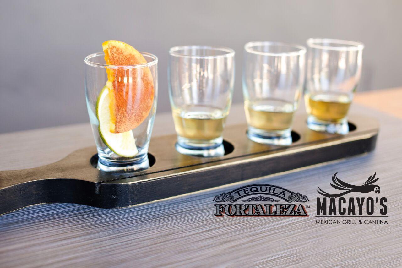 Fortaleza Tequila Flight - Shea Logo