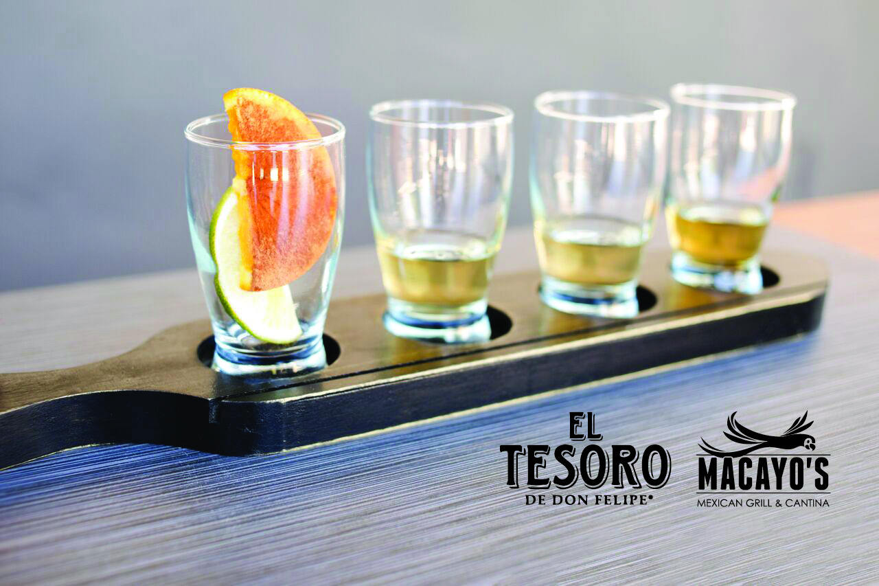 El Tesoro Tequila Flight - Shea Logo