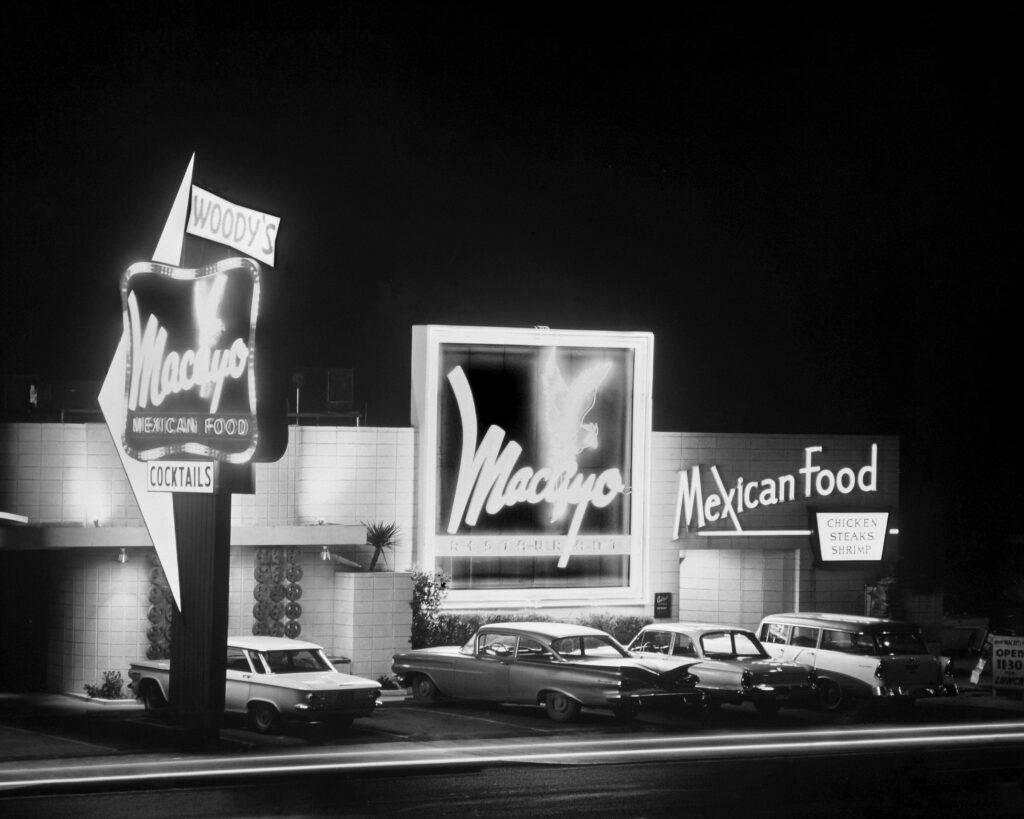 Macayo 1964 grayscale