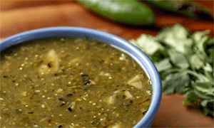 Fire-Roasted Tomatillo Salsa