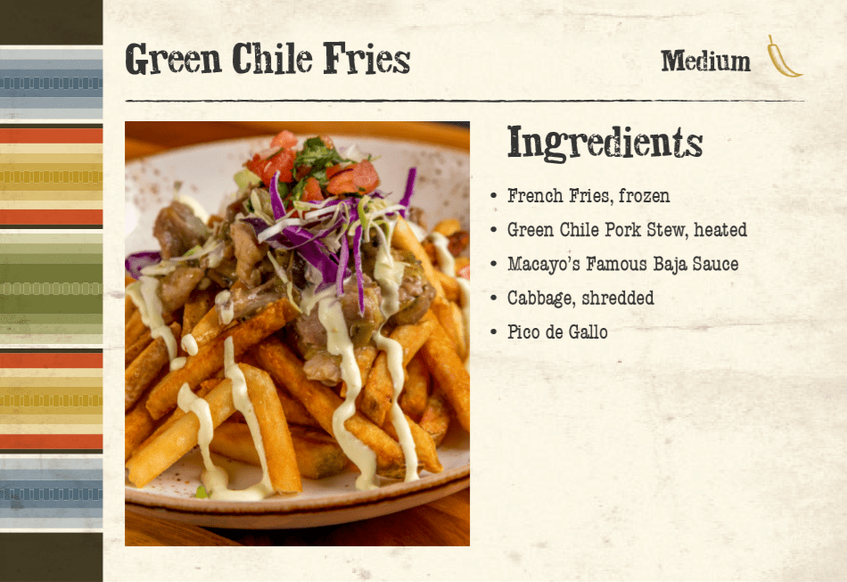 Green Chile Fries Front
