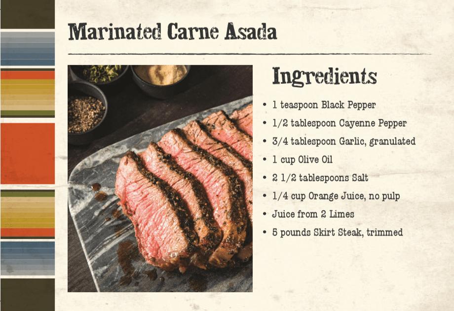 Marinated Carne Asada Front