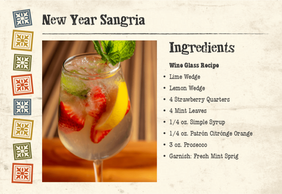 New Year Sangria Front