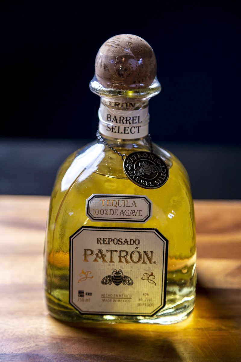Macayo's Patron Barrel Select Reposado